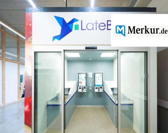 Lebensmittel-Einkauf im vollautomatischen Container-Shop – der erste eröffnet in München