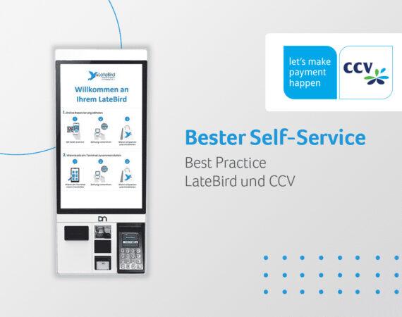 Bester Self-Service: Das CCV OPP-C60 'All-in-one' im LateBird Supermarktcontainer
